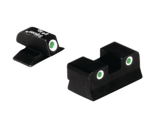 Trijicon Bright & Tough Night Sights for Beretta Cougar 3 Dot front & rear night sight set fits 8000 8040 & 8045