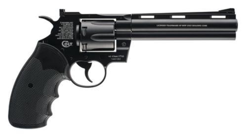 """Umarex Firearms Colt Python BB Revolver .177 Caliber 5.5"""" Barrel Adjustable Sights Black"""