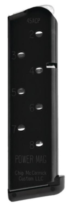 Chip McCormick 1911 Power Mag, 8 Round, 45 ACP