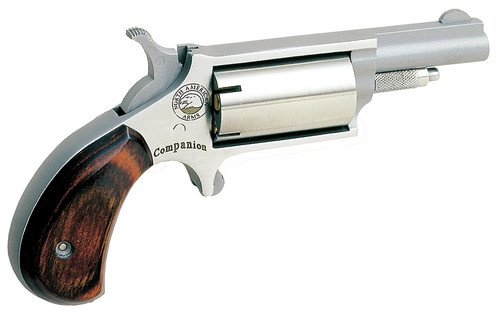 "NAA Cap and Ball Revolver Single 22 1.62"" Wood Stock 5"
