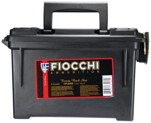 "Fiocchi Exacta Buckshot 12 Ga, 2.75"", 1150 FPS, 9 Pellets, 00 Buckshot, 80rds In Plano Case"