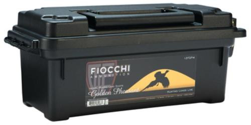 Fiocchi Golden Pheasant Nickel 12 Gauge 2.75 Inch 1250 FPS 1.3 Ounce 4 Shot 100 Rounds In Plano Case