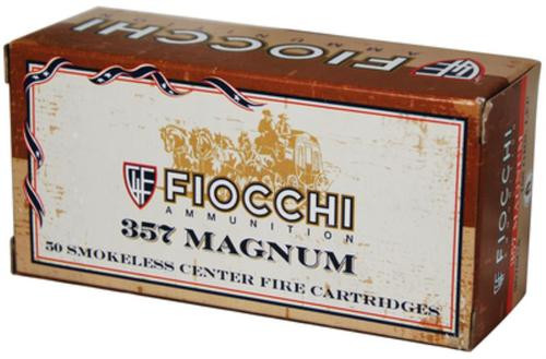 Fiocchi Cowboy Action .357 Magnum 158gr, Lead Flat Point, 50rd Box
