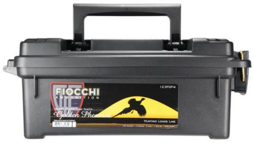 Fiocchi Golden Pheasant Nickel 12 Gauge 3 Inch 1200 FPS 1.75 Ounce 4 Shot 100 Rounds In Plano Case