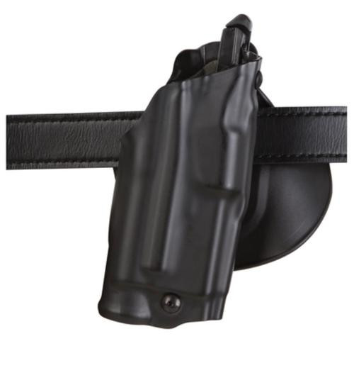 Safariland ALS Paddle Holster, Fits Walther PPQ/PP9Q, Hand Laminate Black STX