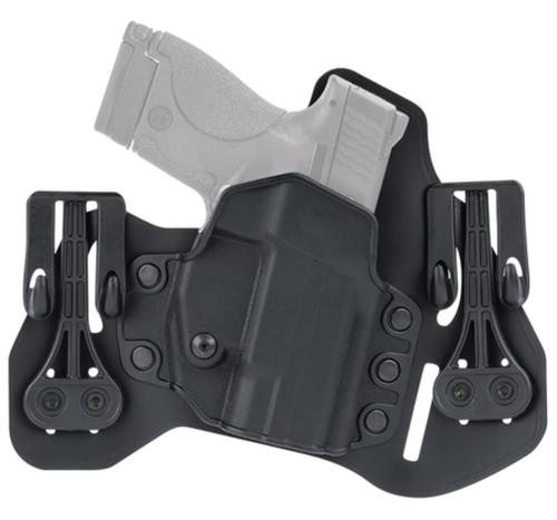 "Blackhawk Leather Tuckable Pancake Holster, Springfield XDS 3.3"", LH, Black"