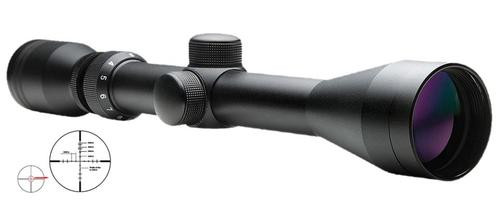 "NCStar Shooter 3-9x 40mm Obj FOV, P4 Sniper Reticle, 1"" Tube Diameter"