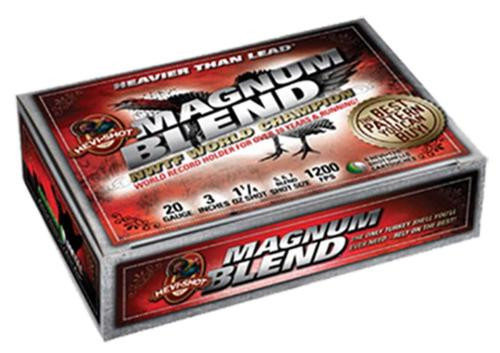 "HEVI-Shot Magnum Blend 20 Ga, 3"", 2oz, 5,6,7 Shot, 5rd/Box"
