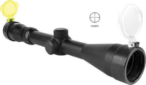 """Aim Sports Full Size 3-9x 40mm Obj 36.6-13.6ft@100yds 1"""" Tube Black P4"""