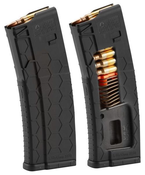 Hexmag AR-15 Magazine, .223/5.56, 15rds, Black