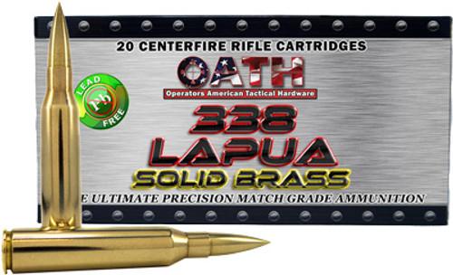 Oath .338 Lapua 235 Gr, 20rd/Box