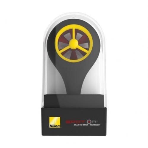 Nikon Ballistic Wind Meter Spot On Black/Yellow