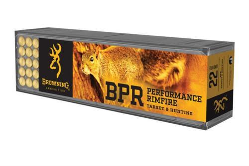 Browning Bpr 22Lr 40Gr Hv Hp, 100rd/Box