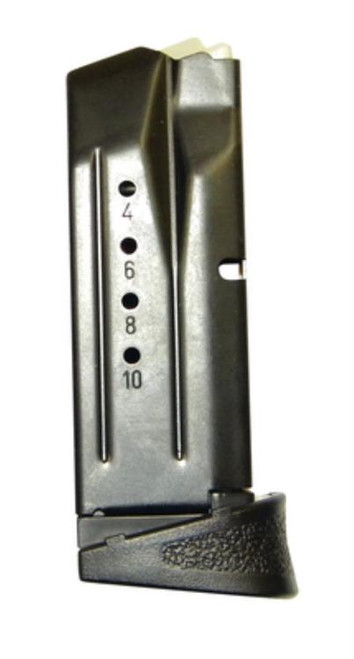 Smith & Wesson M&P 9 Compact Magazine, Finger Rest, 12rd