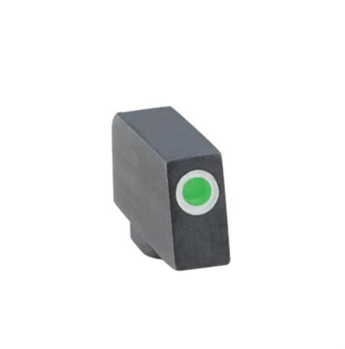 Ameriglo Front Tritium Night Sight For All Glock Green With White Outline .220 Height .125 Width