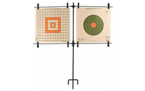 Allen Paper Target Stand, Steel Frame, Includes 8 Clips
