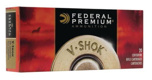 Federal Vital-Shok .30-06 Springfield 165gr, Trophy Copper 20rd Box