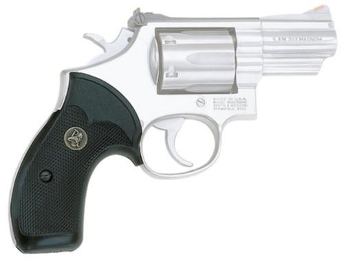 Pachmayr Compact Pistol Grip S&W K/L Frame Round Butt Black Rubber