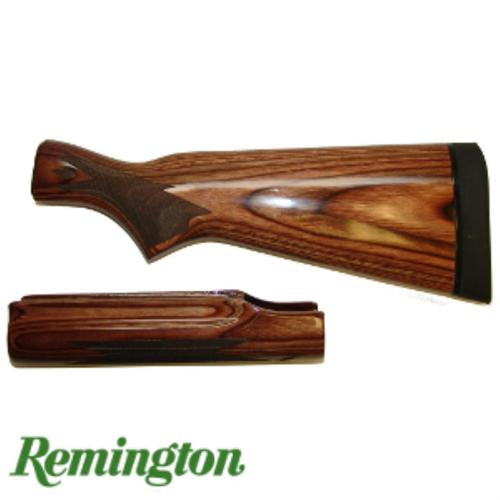 Remington Shotgun - 870 12ga Stock & Fore-end Set with Supercell Recoil Pad Brown High Gloss