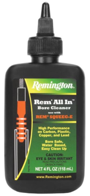 Remington All In Bore Cleaner 4oz Bottle