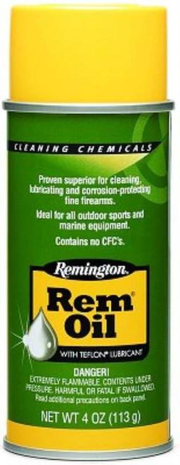 Remington, 4 oz. Spray Can, Rem-Oil, Liquid, 4oz, Lube, 6 Pack