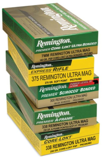 Remington Core-Lokt 300 Rem Short Action Ultra Mag, Core-Lokt PSP, 165gr, 20rd Box