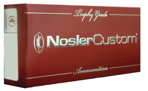 Nosler Trophy Grade .223 Remington 40gr, Ballistic Tip Lead Free 20rd Box