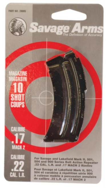 Savage MKII Magazine 22 LR 10 Round
