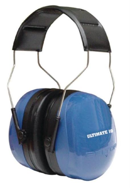 3M Peltor Ultimate 10 Earmuff Hearing Protection 30dB Black/Blue