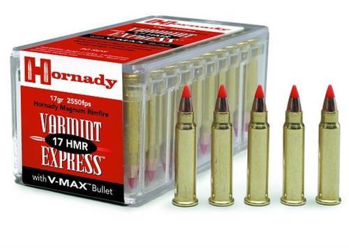 Hornady 17HMR 17GR Poly-Tip V-Max 50rd Box