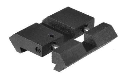 Leapers, Inc. - UTG Base, Fits .22/Airgun to Picatinny/Weaver Rails, Low Pro Snap-In Adaptor