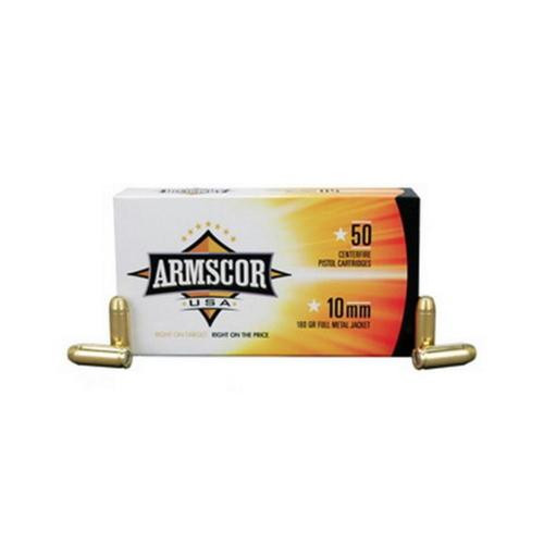Armscor 10mm, 180gr, Full Metal Jacket, 50rd Box
