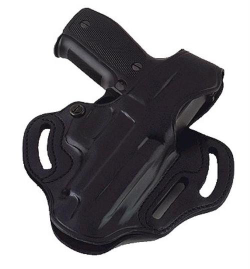 """Galco COP 3 Slot 290B Fits Belts up to 1.75"""" Black Leather"""