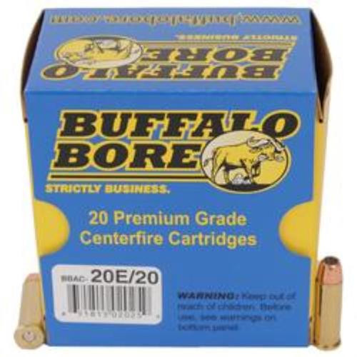 Buffalo Bore Short Barrel Low Flash, .38 Special, 125 Gr, JHP, 20rd Box
