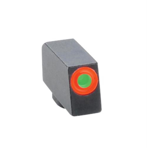 Ameriglo Front Tritium Night Sight For All Glock Green With Orange Outline .240 Height .140 Width
