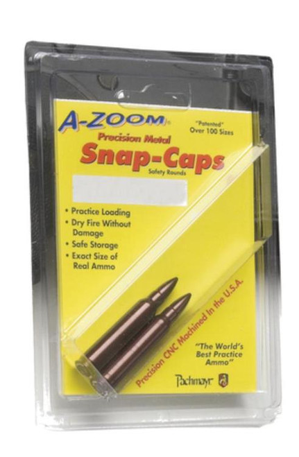A-Zoom Snap Caps Rifle 30-06 Springfield Aluminum 2 Pack