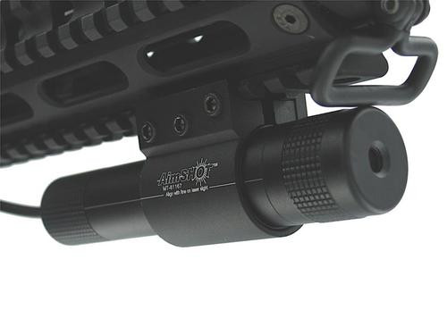 """Aimshot Green Laser 532nm Intensity 2.25""""@100yd 12ft V/H@100yd"""