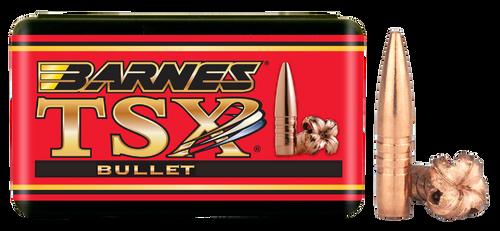 Barnes Bullets 22460 Rifle 22 Caliber .224 62gr, TSX BT, 50rd/Box- Reloading Bullets