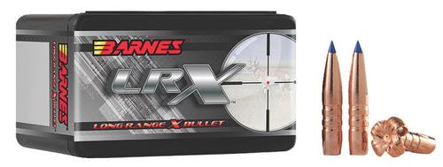 Barnes Bullets LRX 30 Caliber .308 175gr Long-Range X Boat Tail, 50rd/Box