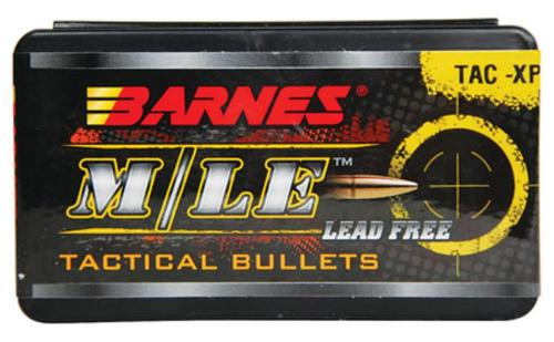 Barnes Tac-Xp Pistol Bullets Lead Free 10Mm Caliber 0.4 Diameter 155 Grain Flat Base