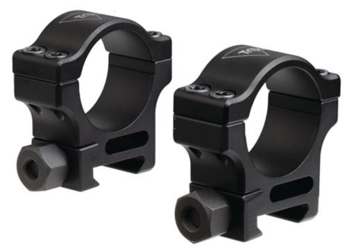 Trijicon AccuPoint Standard Aluminum Rings Hard Coat Black 30mm