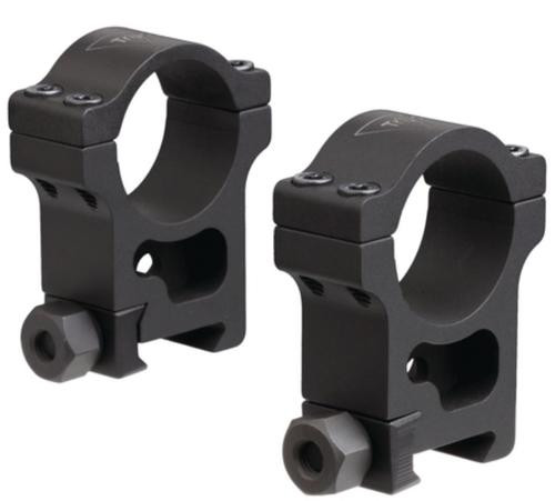 Trijicon AccuPoint Extra-High Aluminum Rings Hard Coat Black 30mm