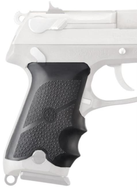 Hogue Ruger P85/P89/P90/P91 Rubber Grip, Finger Grooves Black