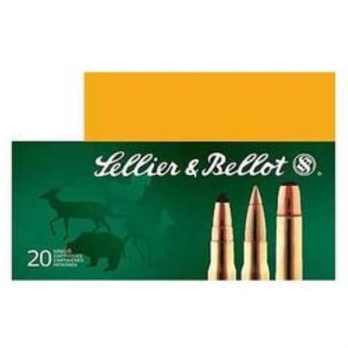 Sellier & Bellot 6.5mmX55mm Soft Point 140 gr, 20rd Box, 20 Box/Case