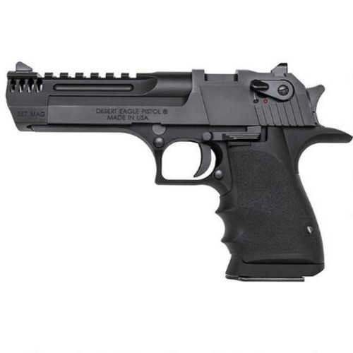 "Magnum Research Desert Eagle L5, .357 Mag, 6"", 9 rd, Integral Muzzle Brake, Black"