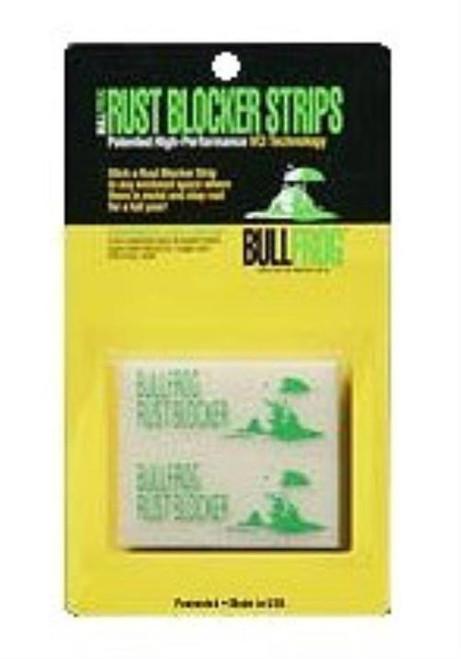 Bull Frog Rust Blocker Strips Rust Inhibitor Protects 1 cu ft 6Pk