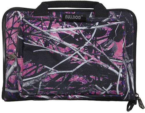 Bulldog Mini Range Bag Nylon 11x7x2 Water-Resistant Muddy Girl Camo