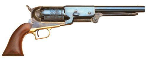 "Cimarron Firearms 1847 Walker Dragoon .44 Caliber 9"" Blued Barrel Walnut Grip"