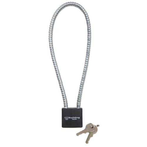 Bulldog Keyed Cable Trigger Lock 15 Inch Cable Black