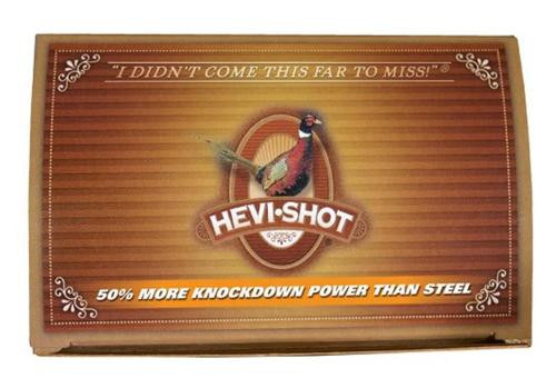 "HEVI-Shot HD Pheasant 12 Ga, 2.75"", 1-1/8oz, 4 Shot, 10rd/Box"